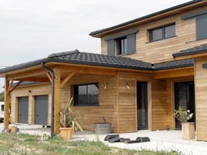 Travaux de Construction de Maison en Bois en France